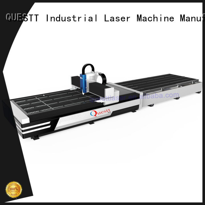 QUESTT laser cutting equipment manufacturers Customized for remove the surface material