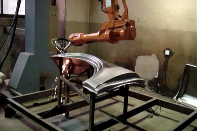 Robot Laser Cutting Machine System