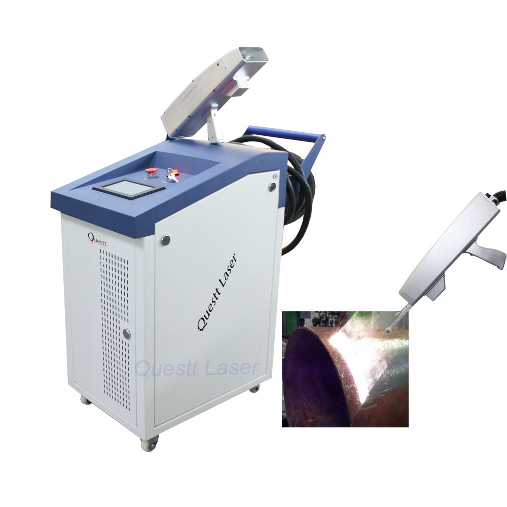 product-QUESTT-Portable Laser Rust Removal Machine For Cleaning , Hand Held Gun Trigger 200W-img