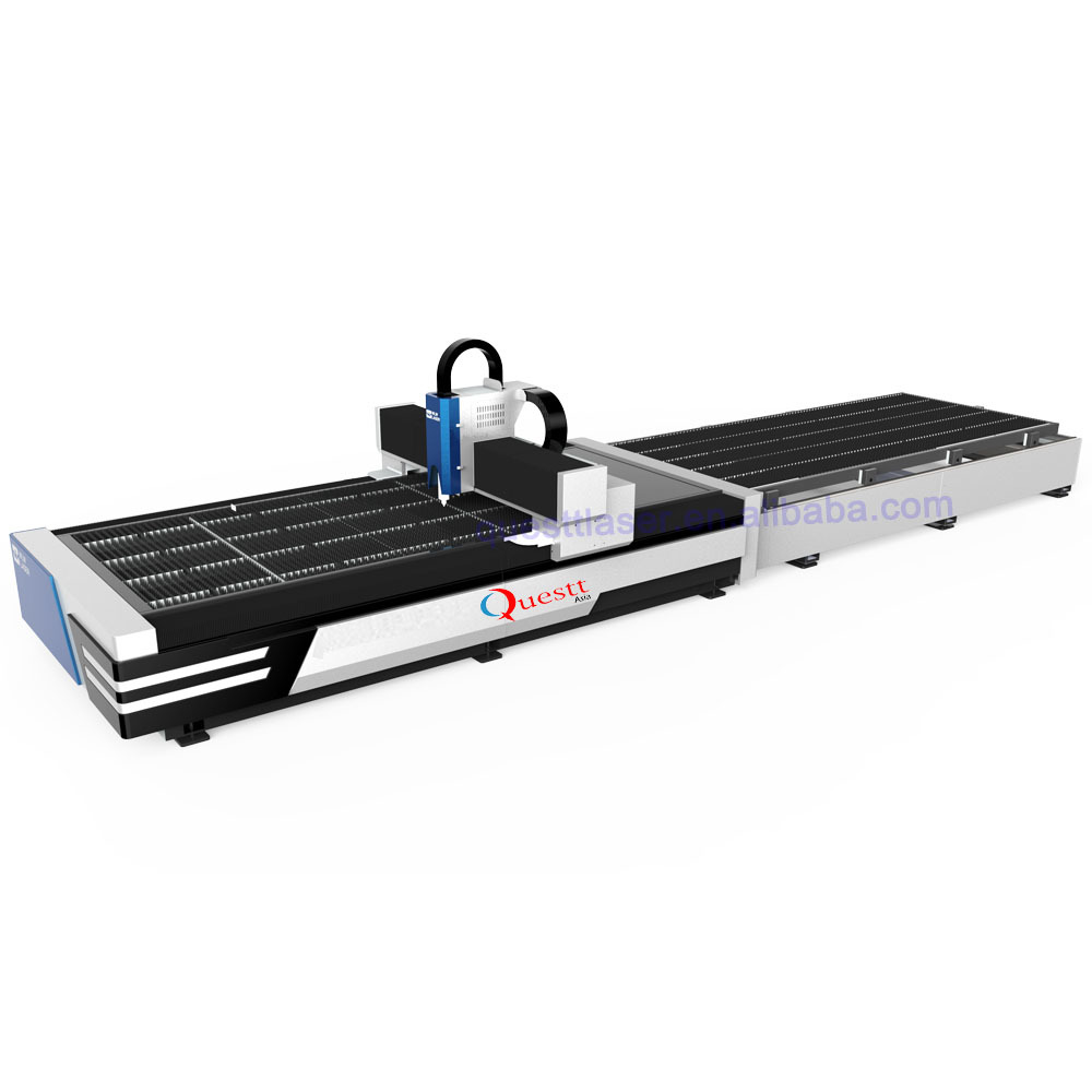 6KW Fiber Laser metal Cutting Machine