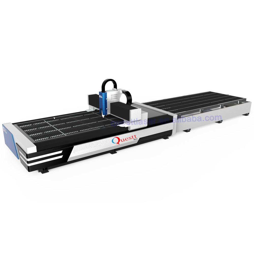 6KW Fiber Laser metal Cutting Machine