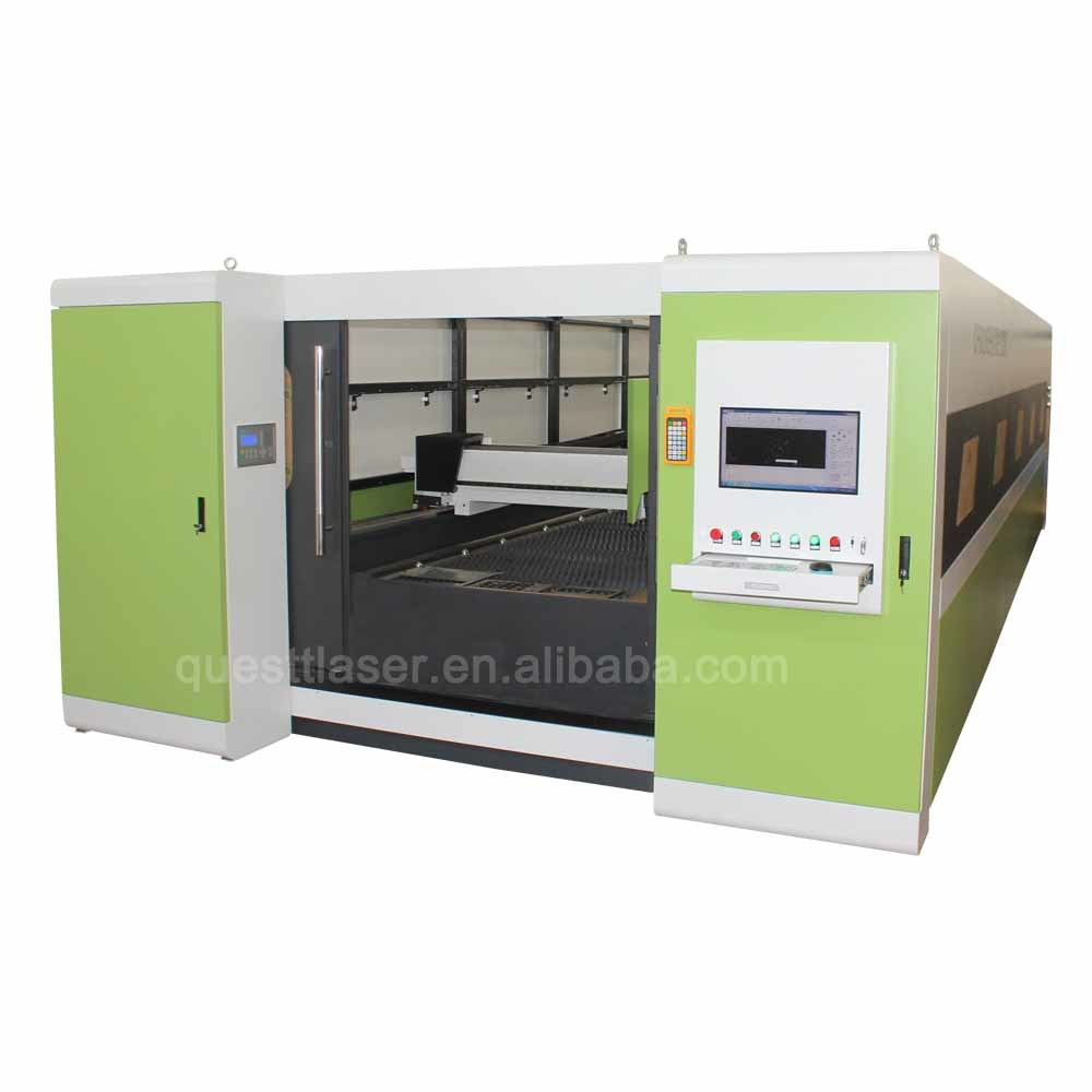 Metal Sheet Fiber Laser Cutting Machine 10KW