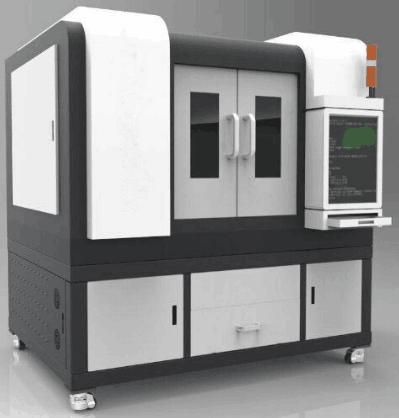 High precision 4040 laser cutting engraving machine for metal cutting