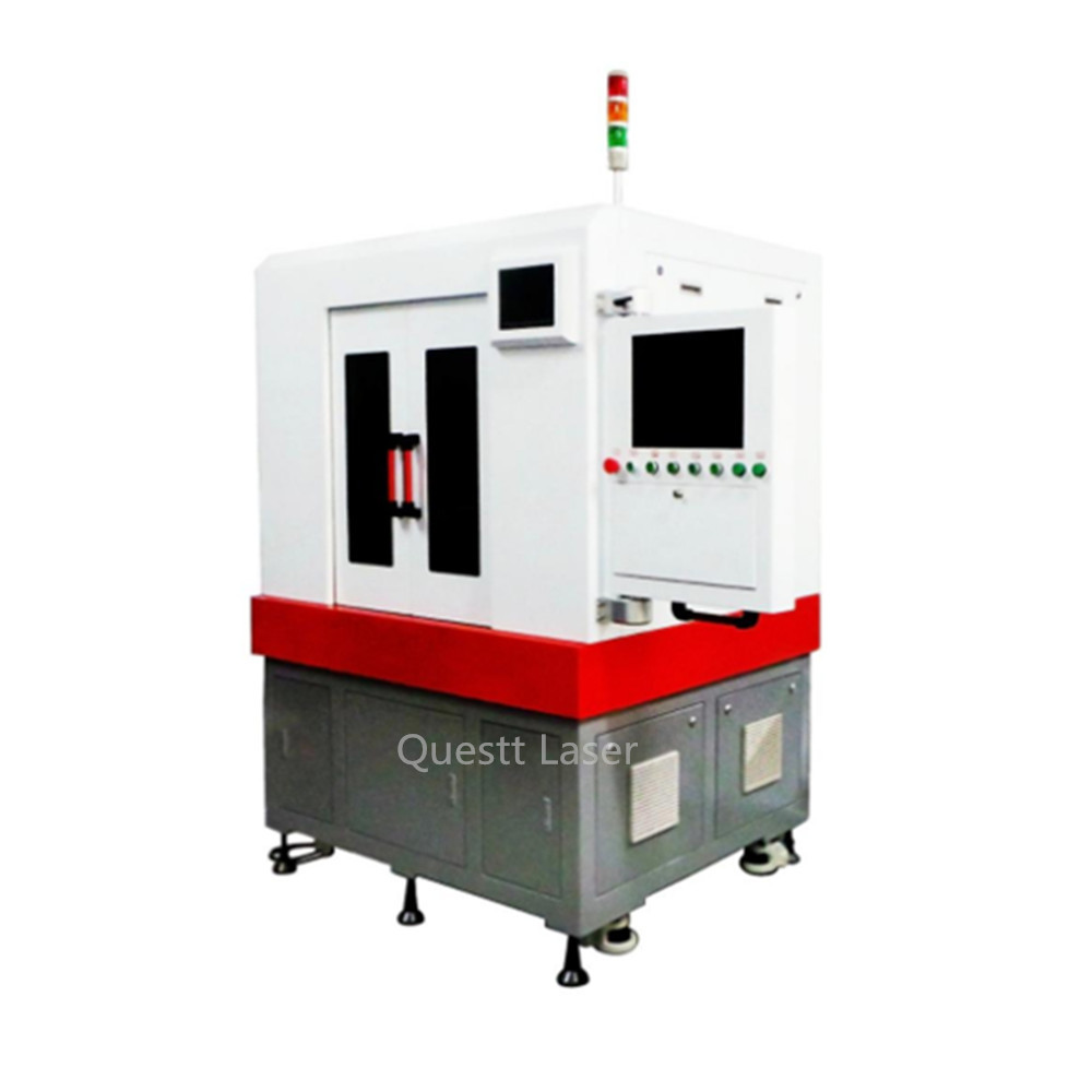 300W QCW Fiber Laser Cutting Machine System with high precision and fast speed