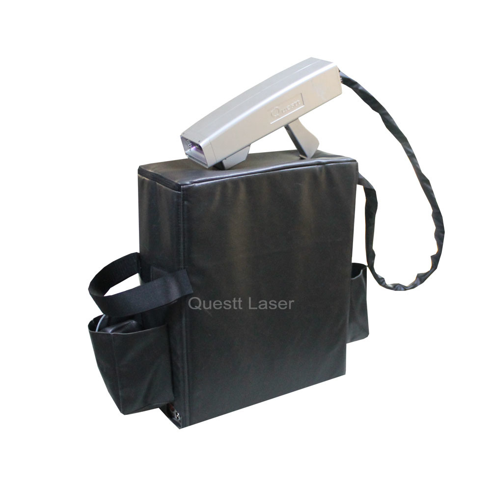 20W 50W 100W Light-Weight Backpack Laser Cleaning Machine for Metal