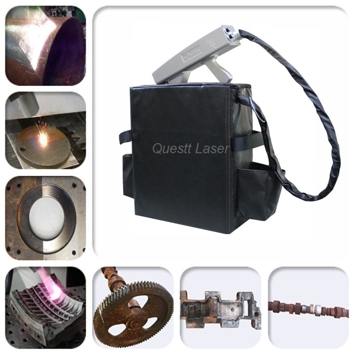 Backpack Laser Cleaning Machine for Rust Removal