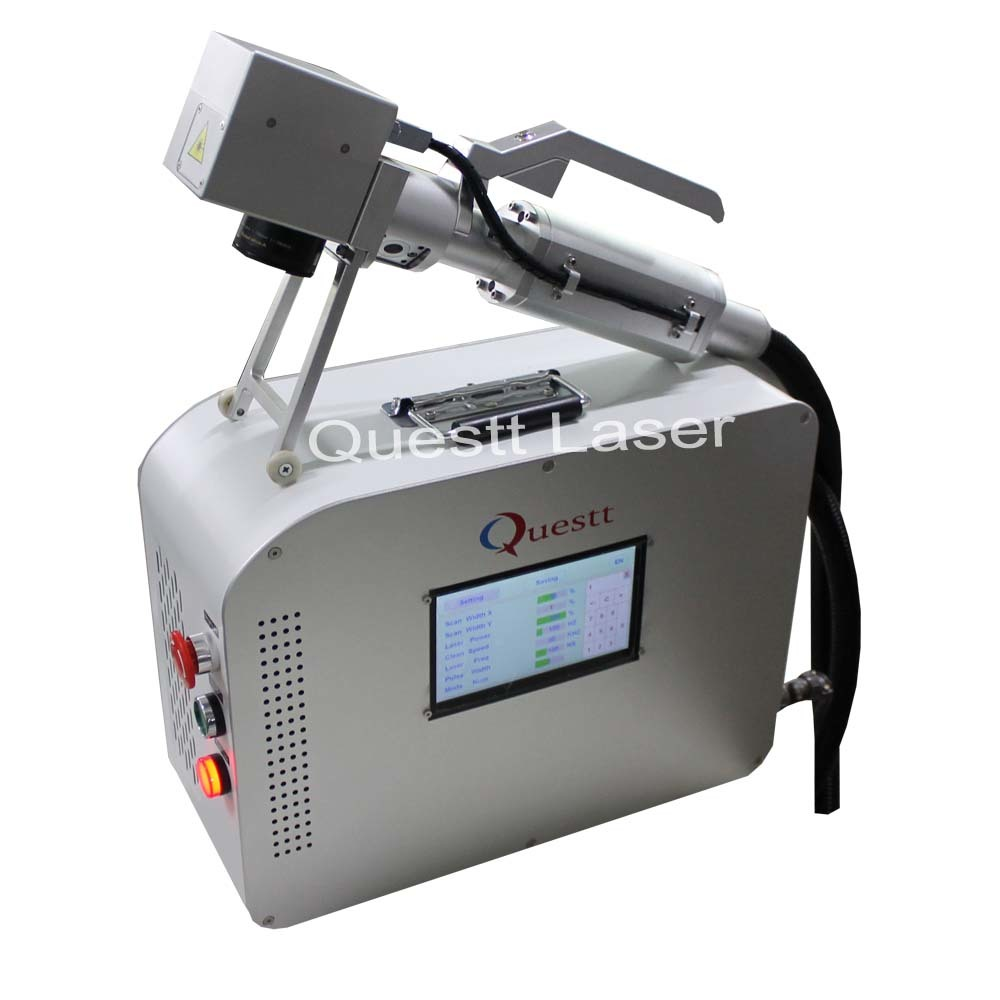 20W Scanner Head Portable Laser Cleaning Machine
