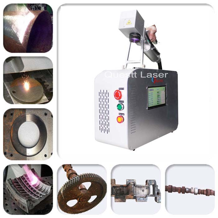 20W Scanner Head Laser cleaning machine