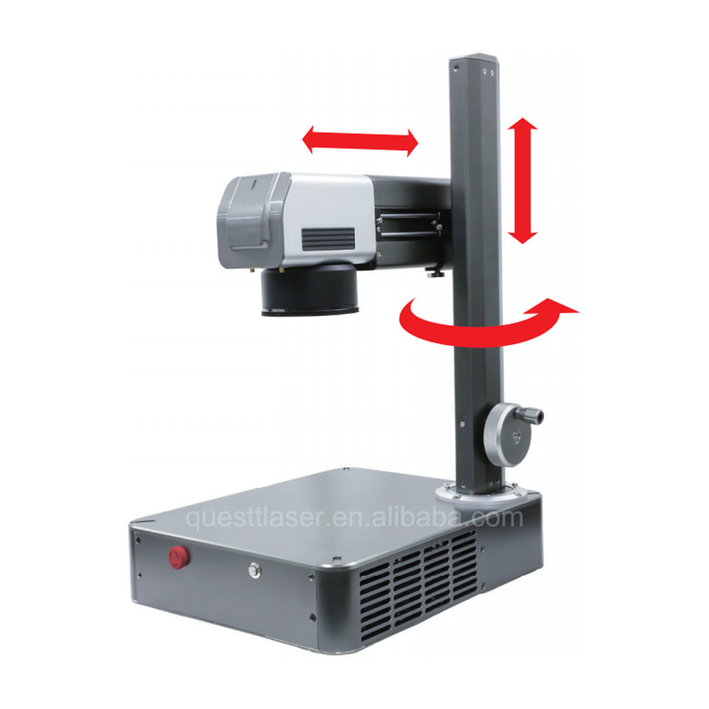 Raycus/ Ipg/Mopa 20W 30W 50W 100W Fiber Laser Marking Machine For Metal,Watches,Camera,Auto Parts,Buckles