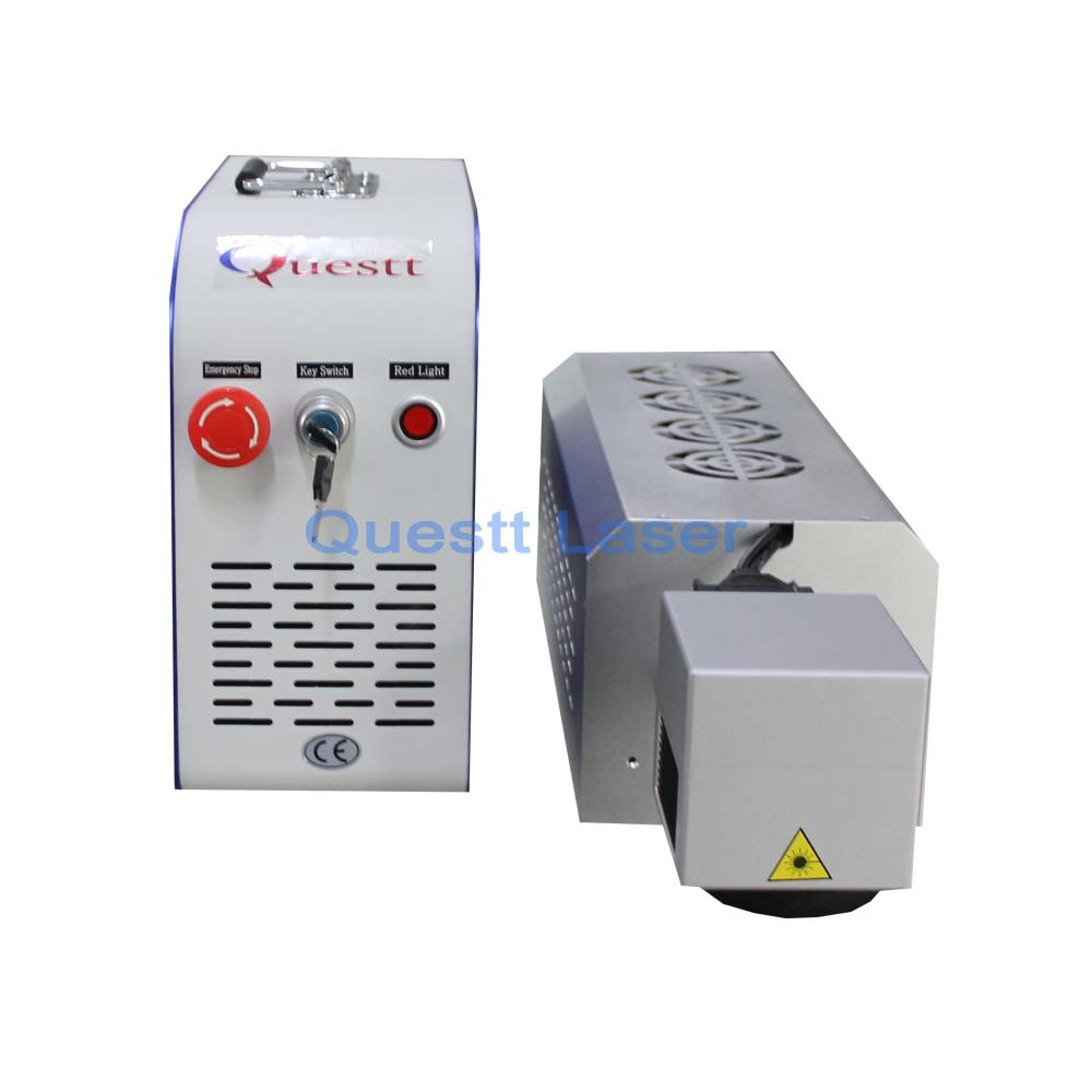 China Manufacture Mopa JPT Fiber Laser Source 20W 50W Mini Metal Fiber Laser Marking Best Price 3D Laser Engraving