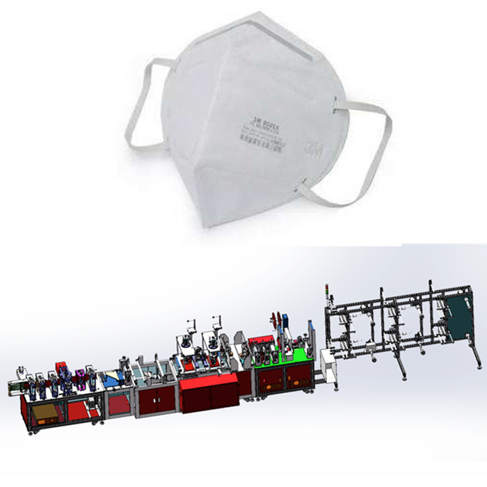 Full Automatic Face Mask Making Machine