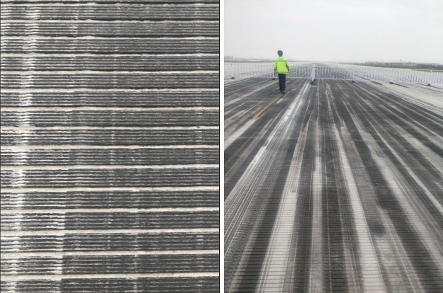 news-Beijing Airport Laser Cleaning the Black Glue on Airport Runway-QUESTT-img