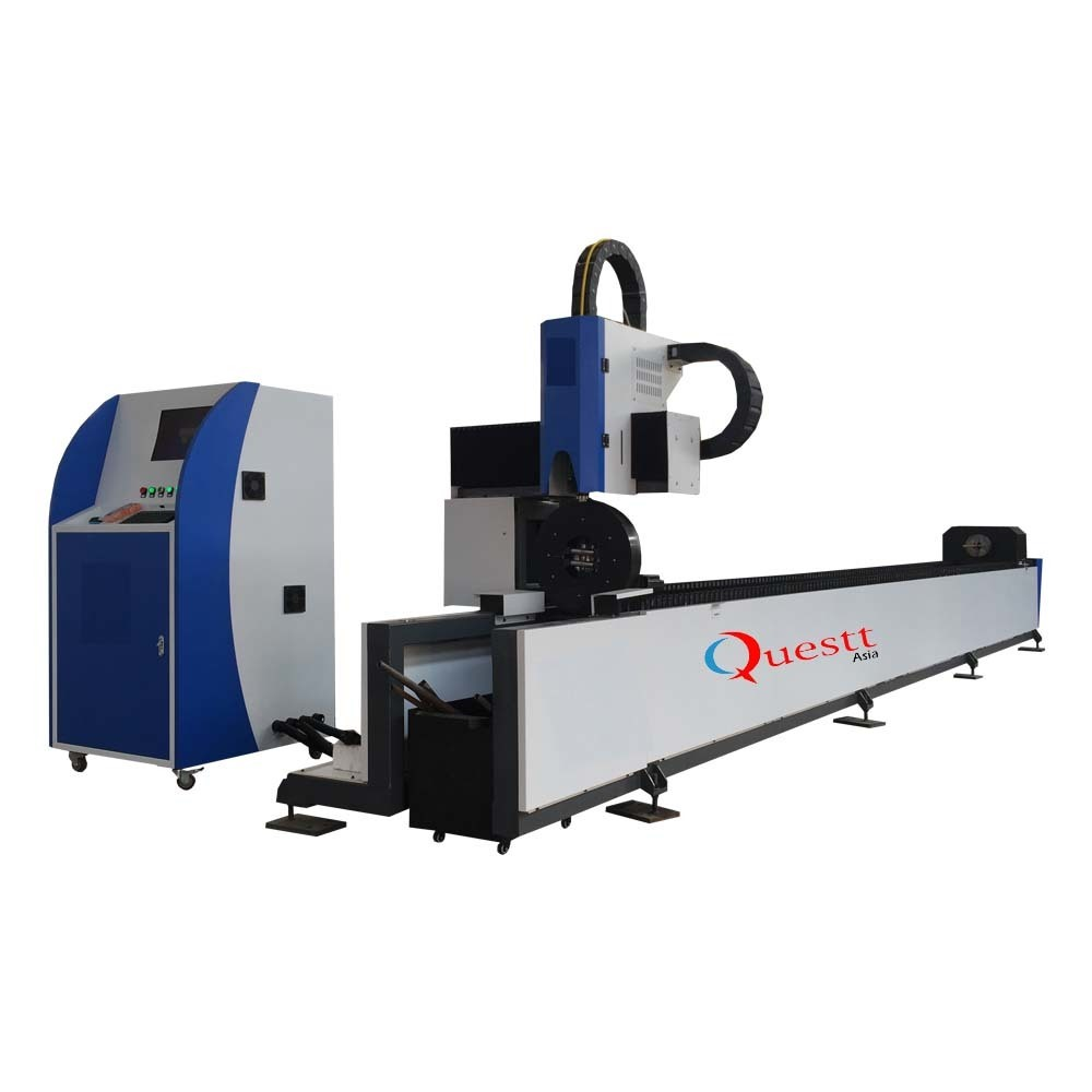 Pipe Tube Fiber Laser Cutting Machine with 3KW CW Lazer Source