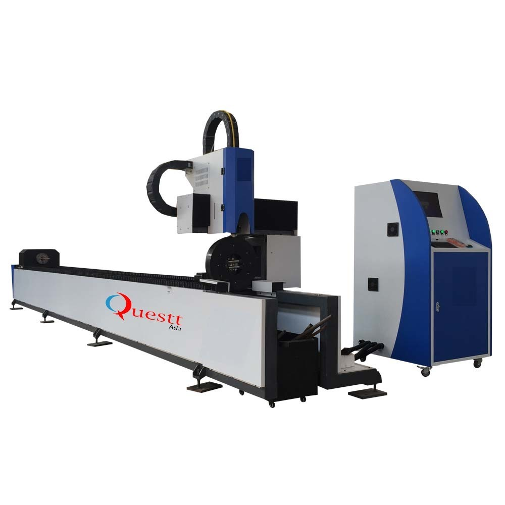 product-QUESTT-Pipe Tube Fiber Laser Cutting Machine with 3KW CW Lazer Source-img