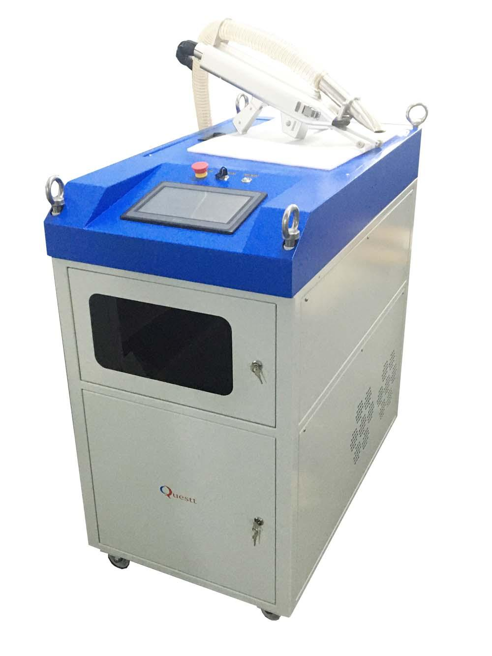 news-IPG 500W Laser Cleaning Machine Ready for Shipping-QUESTT-img