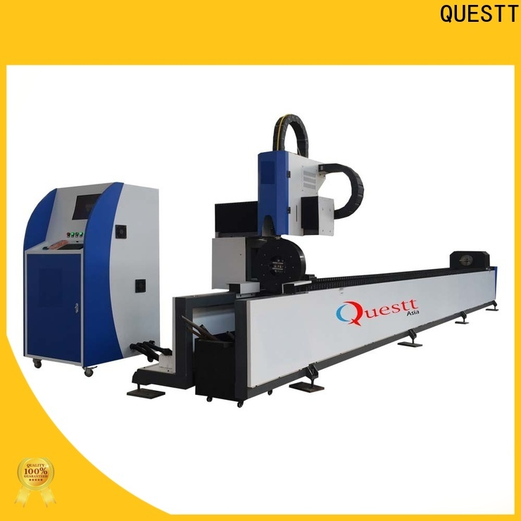 QUESTT mini metal laser cutting machine price for remove the surface material