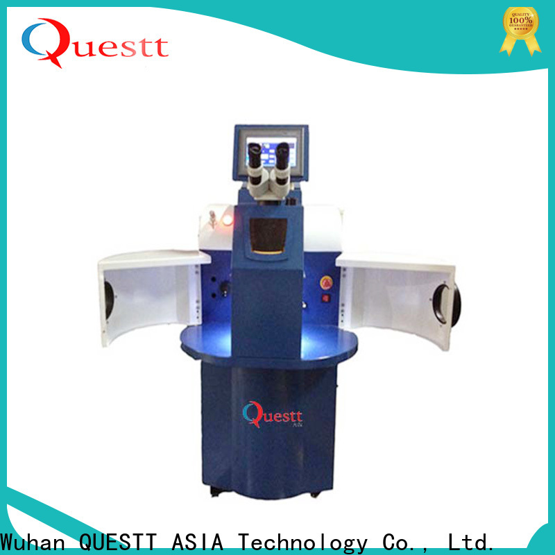 QUESTT jewelry fiber laser welding machine price Factory price for welding of micro parts