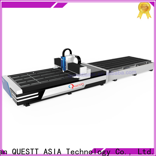 QUESTT small laser cutting machine metal from China for remove the surface material