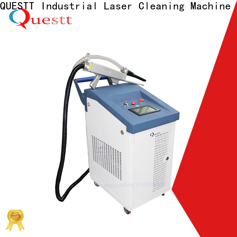 QUESTT Wholesale cl 1000 laser rust removal cost price For Cleaning Rust
