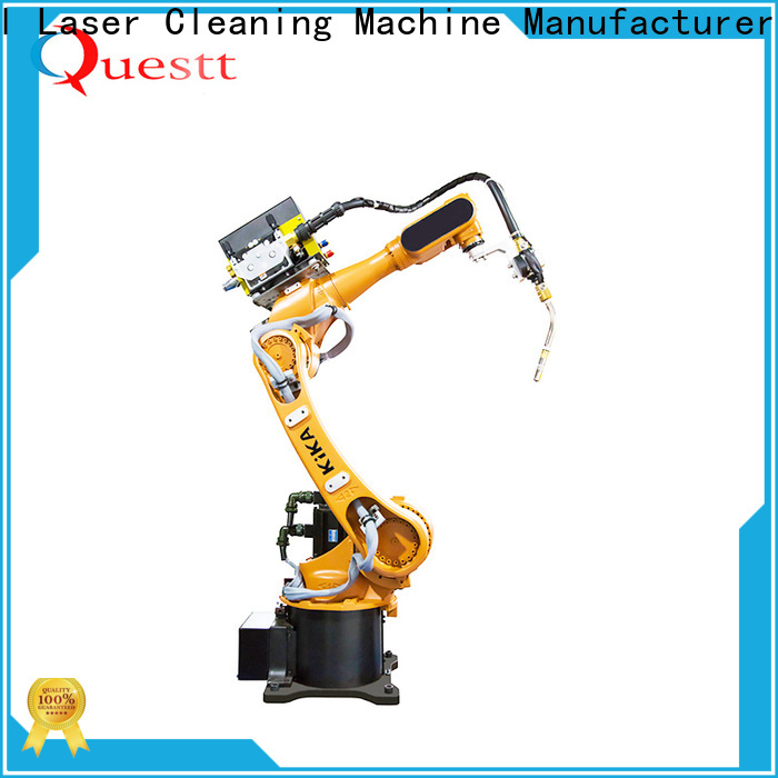 QUESTT robot laser welding machine system for business for laser material processing
