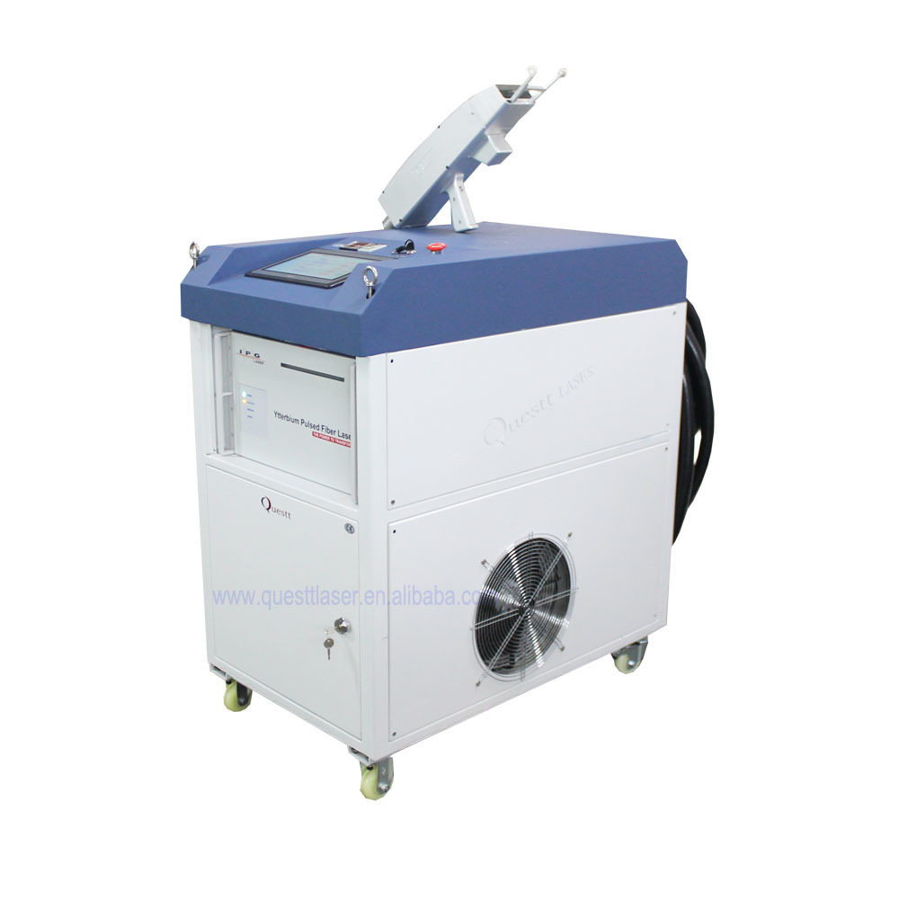 IPG 500W Clean Laser Rust Removal Machine for Metal