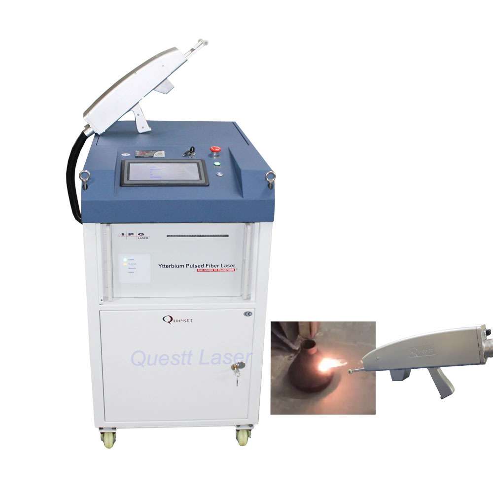 High Power 500W Laser Cleaning Machine for Automobile Restoration
