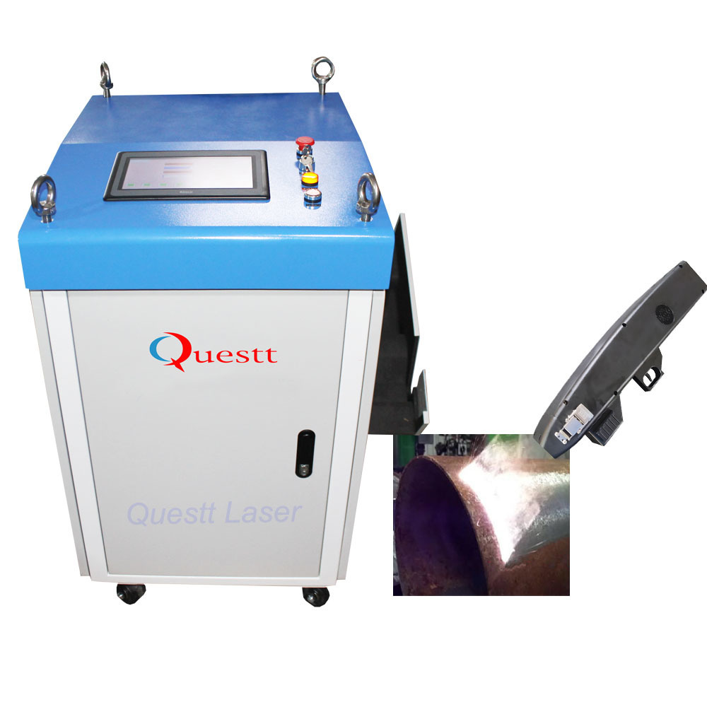 100W 200W Fiber Paint Rust Removal Handheld Metal Laser Cleaning Machine