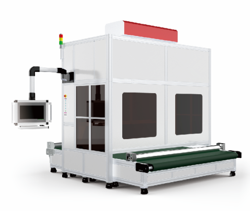 400*400mm 600*600mm 800*800mm Large Format Co2 Dynamic Focusing Laser Marking Machine