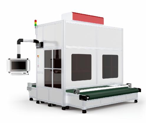 400*400mm 600*600mm 800*800mm Large Format Co2 Dynamic Focusing Laser Marking Machine