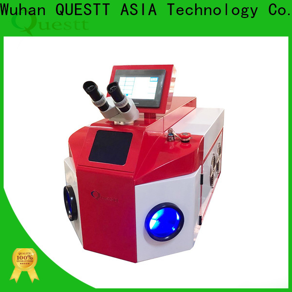 QUESTT large depth jewelry diode laser welding machine manufacturer for small parts