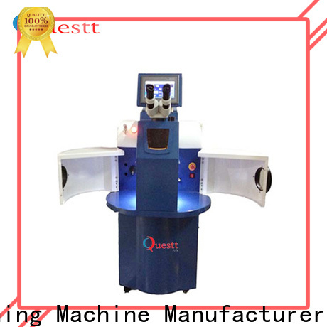 QUESTT Easy to install jewelry laser welding machine manufacturers Chinese producer for welding of jewelry