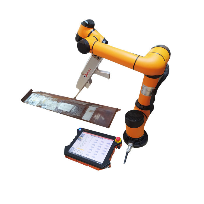product-QUESTT-Robotic Clean Laser for Automation Cleaning job with 6 axis Robot-img