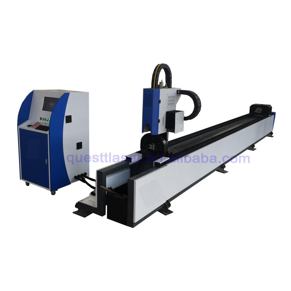 product-QUESTT-Promotion 3000w Cut Tube 1000w 2000w CNC Tube Fiber Metal Laser Cutting Machine For M