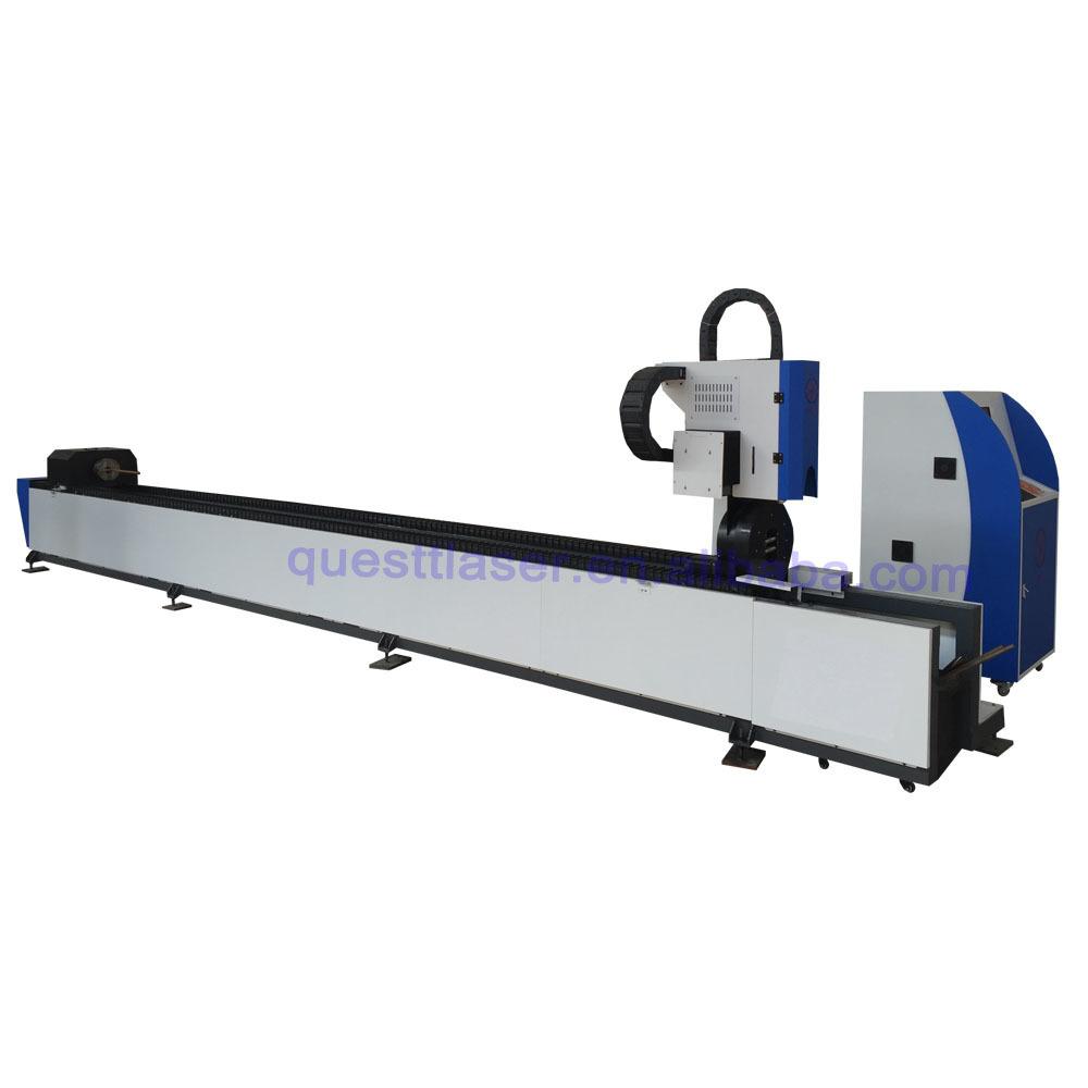 product-Promotion 3000w Cut Tube 1000w 2000w CNC Tube Fiber Metal Laser Cutting Machine For Metal St-1