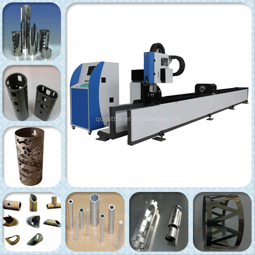 Tube Pipe Fiber laser cutting machines with automatic loading & unloading system