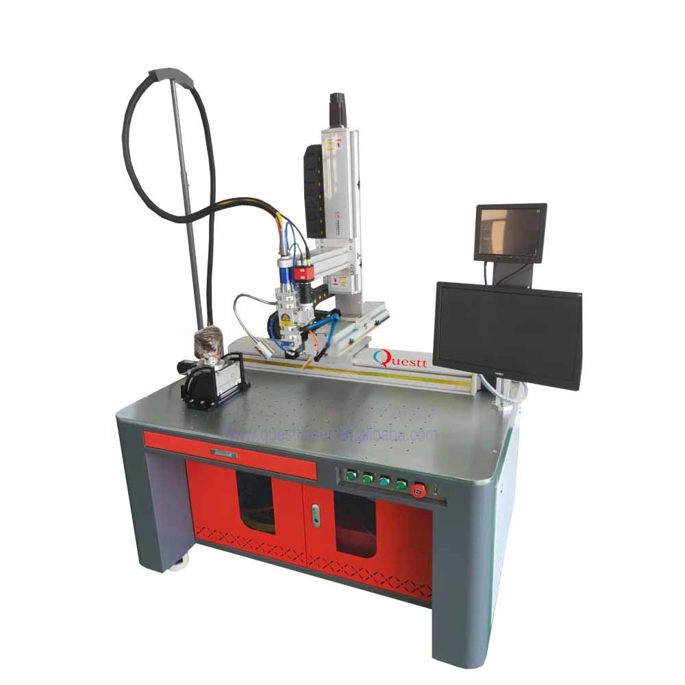 With Wobble head handheld advanced automatic fiber laser welding machine for stainless steel iron aluminum copper brass welding