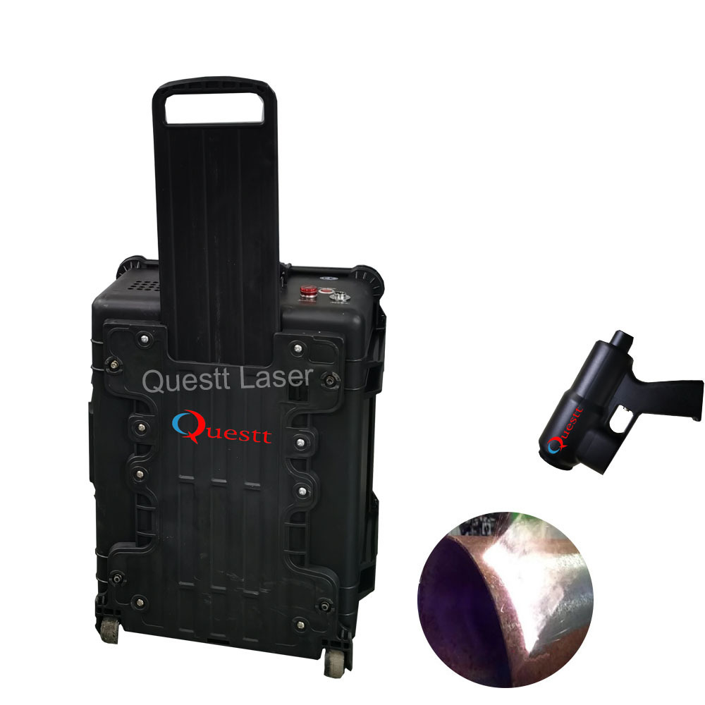 Questt laser cleaning machine rust removal machine-100w rust cleaning laser tool for cleaning slats of laser cleaner