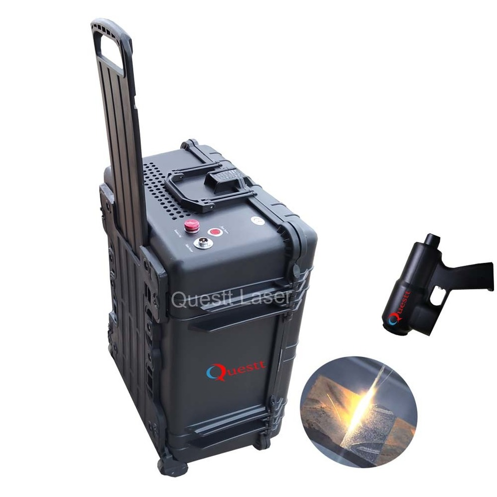Suitcase Laser cleaning machine with small head