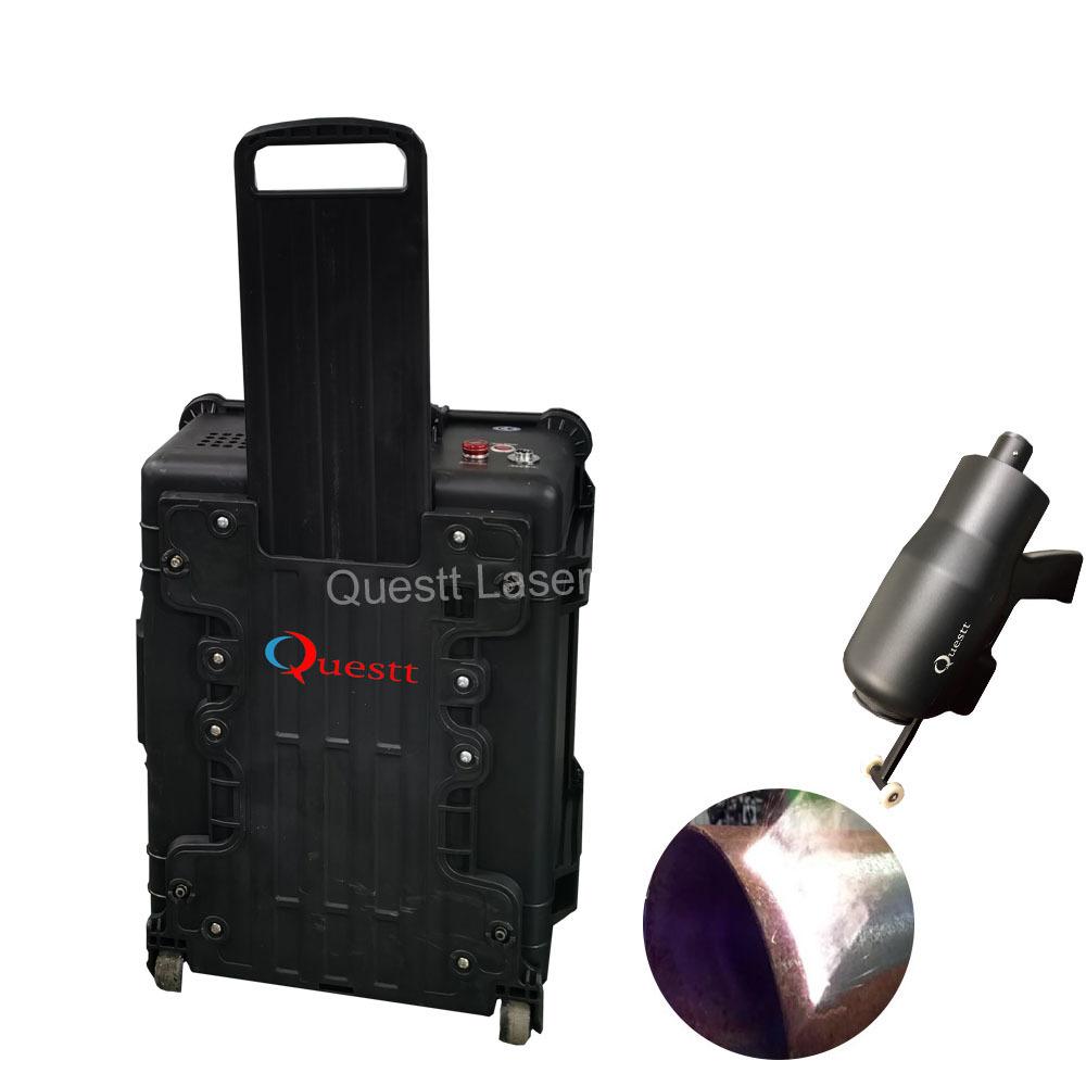 product-QUESTT-100W 200W fiber Laser Cleaning Machine Metal Rust Oxide Painting Coating Graffiti Rem