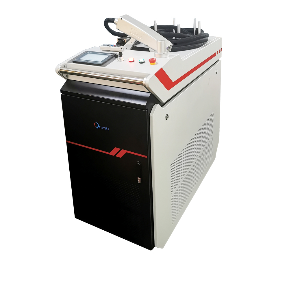 Metal fiber laser cleaning machine 1000W 2000 Watt hand-held rust remover paint remover for industrial mold laser rust removal