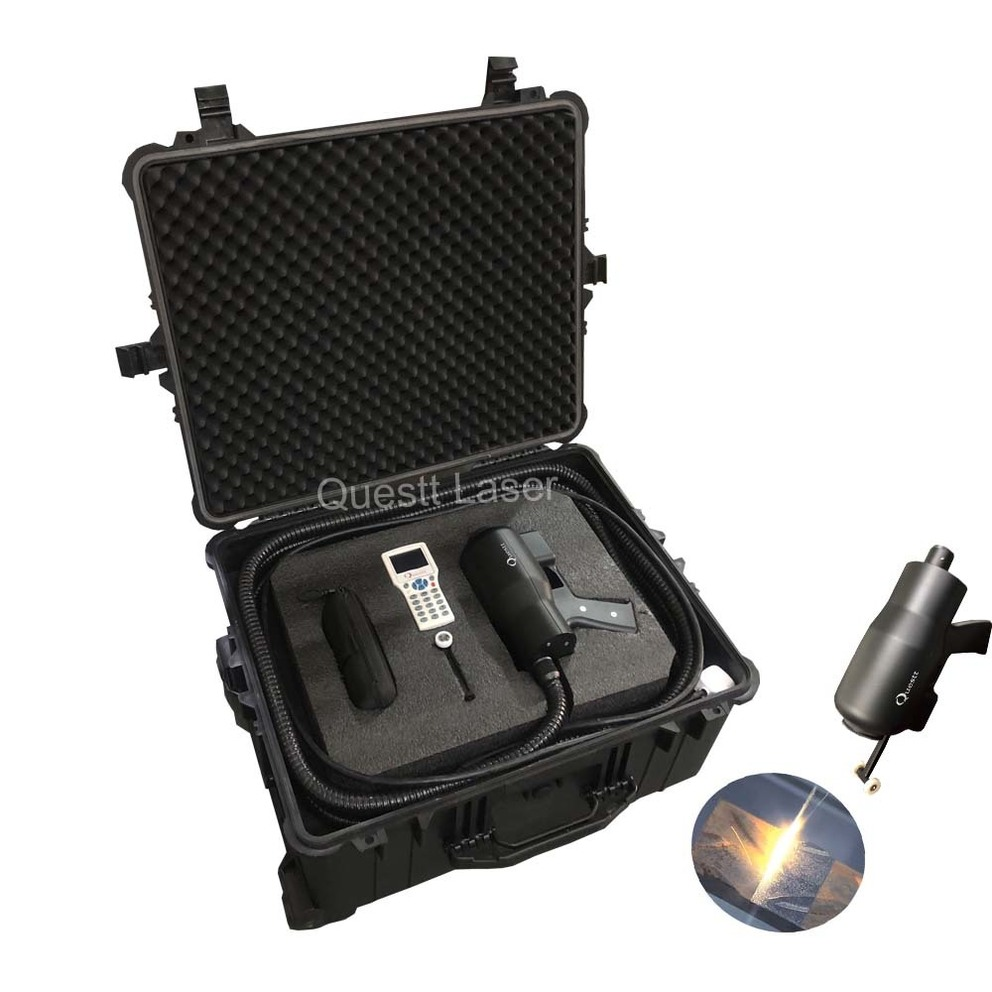 100W Industrial Handheld Metal Surface Laser Cleaning And Rust Removal Machine For Sale