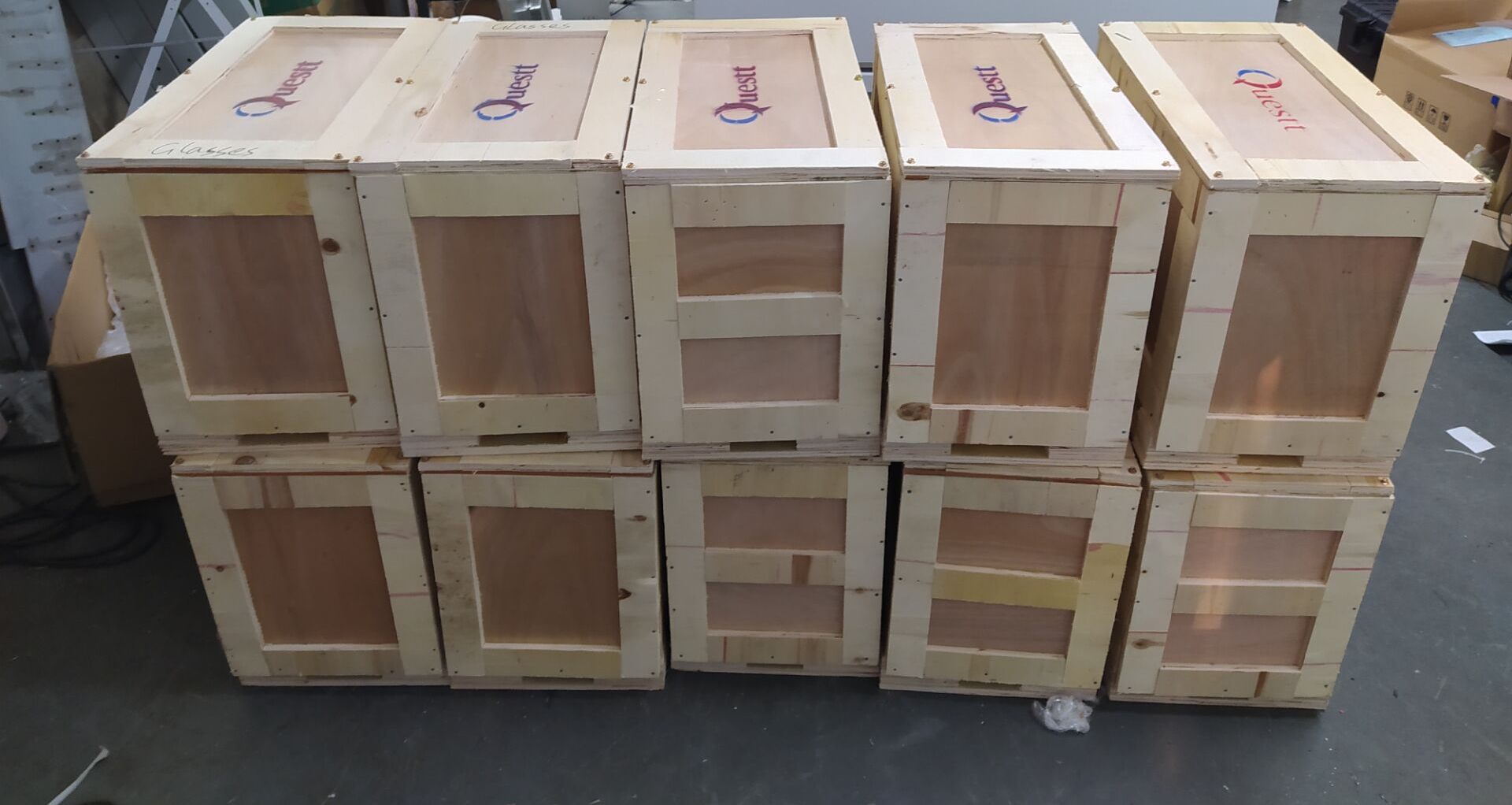 news-Ten sets laser cleaning machines have been shipped out-QUESTT-img