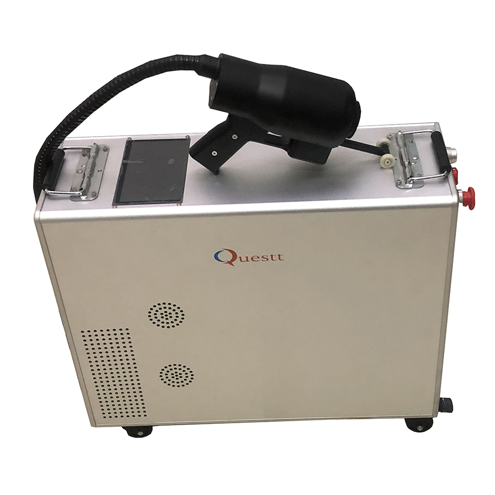 100w handheld fiber laser cleaning machine for rust paint remove