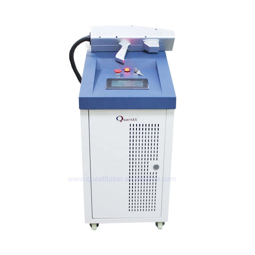 CE approved industrial 200W metal surface cleaning machine laser for rust removal