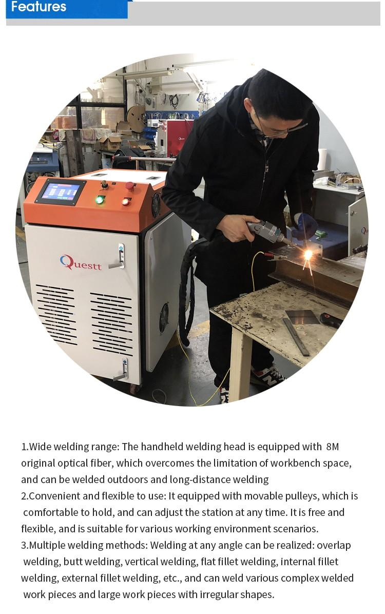 product-1kw 15kw 2kw Handheld fiber laser welding machine for stainless carbon steel with best pric-1