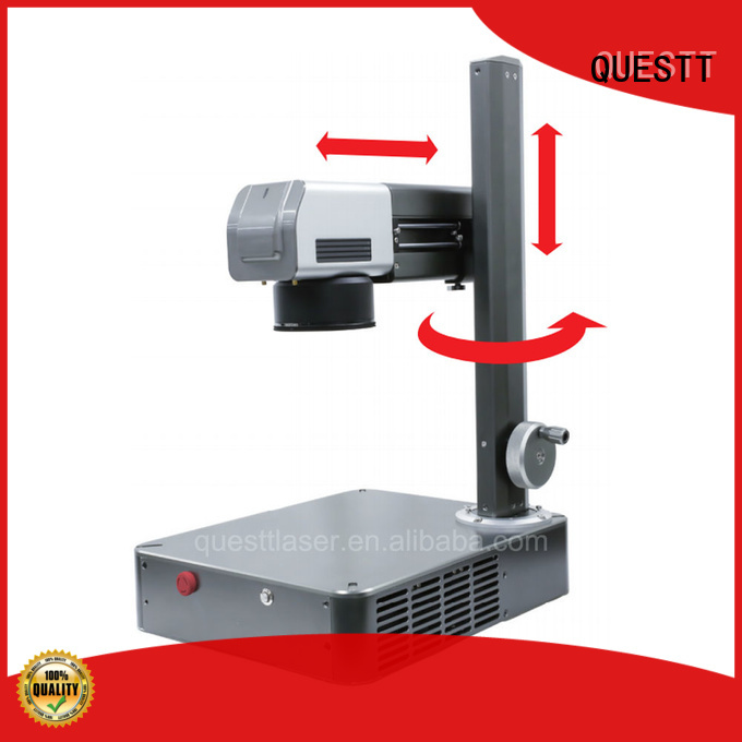 QUESTT fiber laser marking machine in china manufacturer for laser marking industry