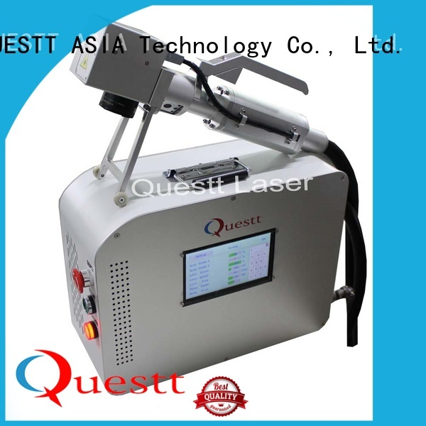 QUESTT p laser cleaning systems price manufacturer for aerospace, automotive