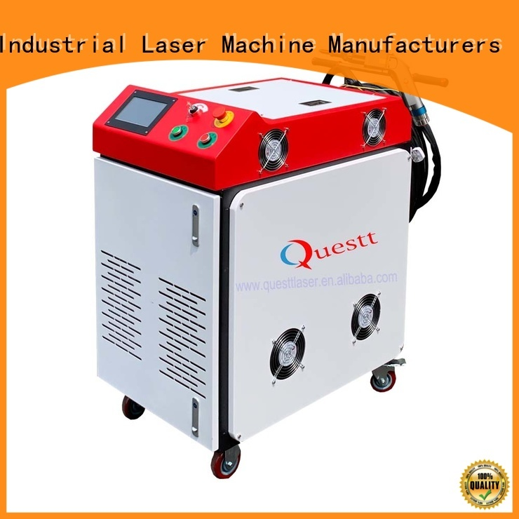 QUESTT handheld laser welding machine price manufacturer for mechanical products