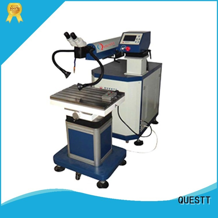 QUESTT quality Mold laser soldering machine factory for modification of mould size