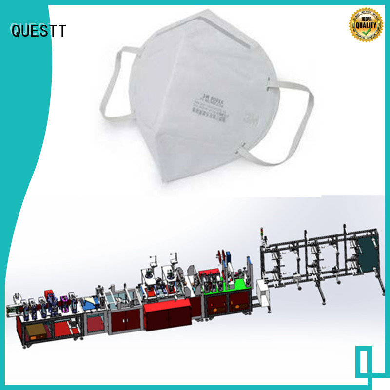 QUESTT automated industrial machinery in China 24 hours a day continuous production